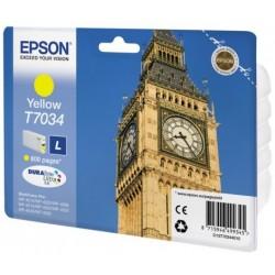 Epson T7034 Cartouche d'encre Jaune