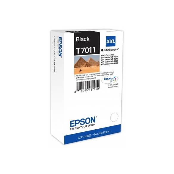 Consommable Epson T7011 Cartouche d'encre Noir