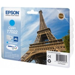 Epson T7022 Cartouche d'encre Cyan