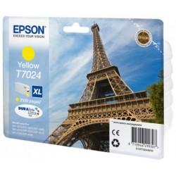 Epson T7024 Cartouche d'encre Jaune