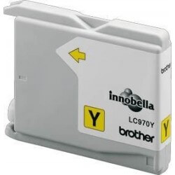 Brother LC970Y Cartouche d'encre Jaune