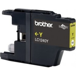 Brother LC-1240Y Cartouche d'encre Jaune