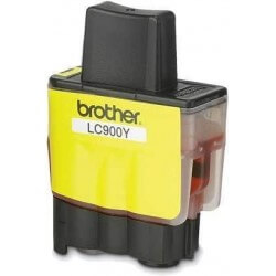 Brother LC900Y cartouche d'encre Jaune