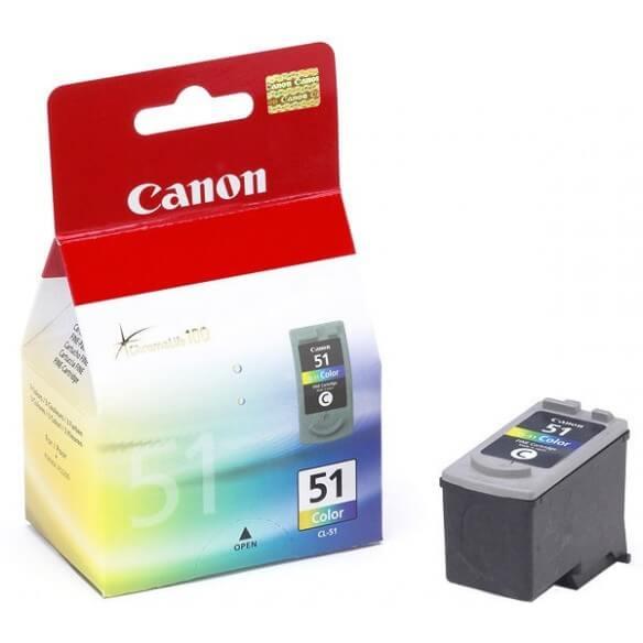 Canon  CL-51 cartouche d'encre couleur (cyan,magenta,jaune) (photo)