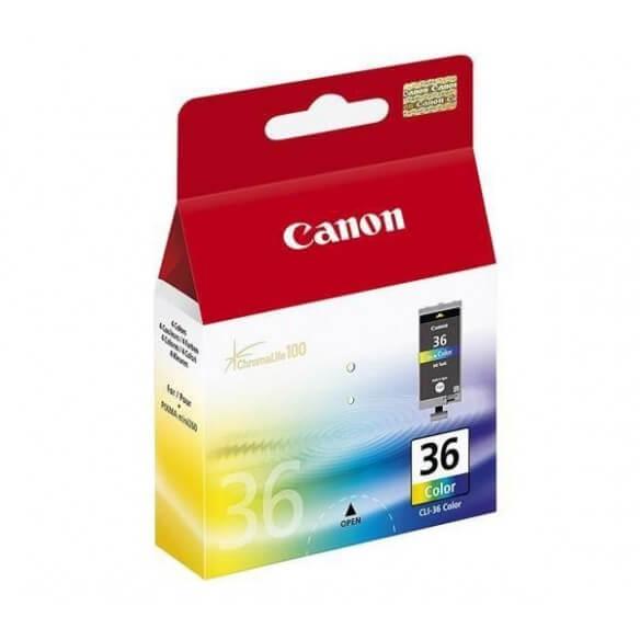 Consommable Canon CLI-36 Cartouche d'encre trois couleurs