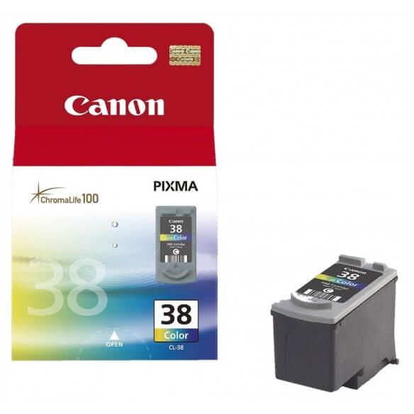 Consommable Canon CL-38 Cartouche d'encre couleur 205 pages