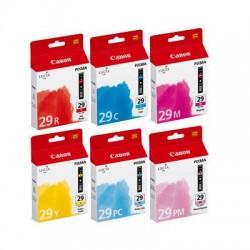 Canon PGI-29 C/M/Y/PC/PM/R Multipack de cartouche couleurs