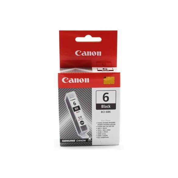 Consommable Canon BCI-6BK cartouche d'encre Noir