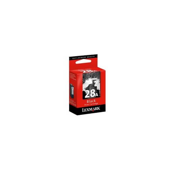 Consommable Lexmark No.28A Cartouche d'encre noir