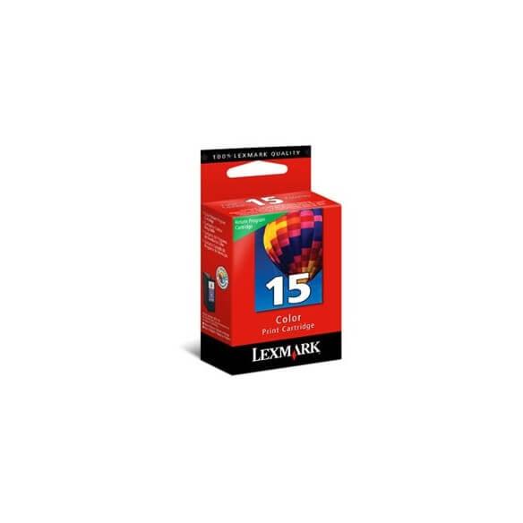 Consommable Lexmark N° 15 Pack Cartouche d'encre couleur