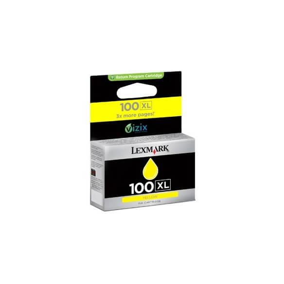 Consommable Lexmark 100XL Cartouche d'encre Noir