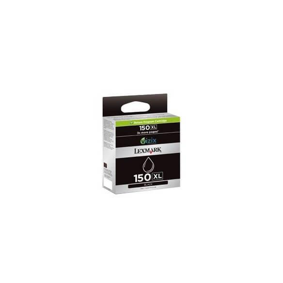 Consommable Lexmark n°150xl Cartouche d'encre Noir