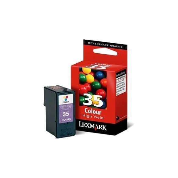 Consommable Lexmark 35 Cartouche d'encre couleurs