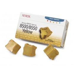Xerox Encre solide 8500/8550 jaune (3 bâtonnets)