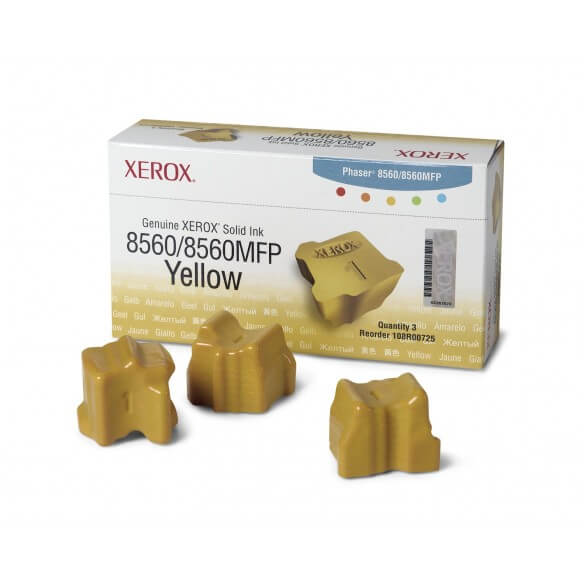 Xerox Encre Solide Jaune 8560MFP/8560 D'Origine (3400 Pages)