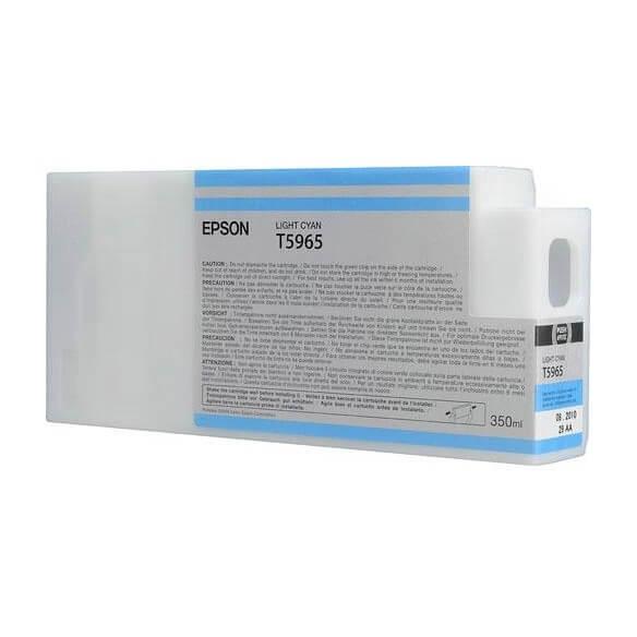 Epson  Encre Pigment Cyan Clair SP 7900/9900 (350ml) (photo)
