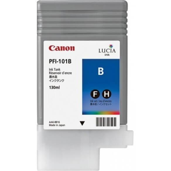 Consommable Canon PFI-101B Encre Pigment Bleu (130ml)
