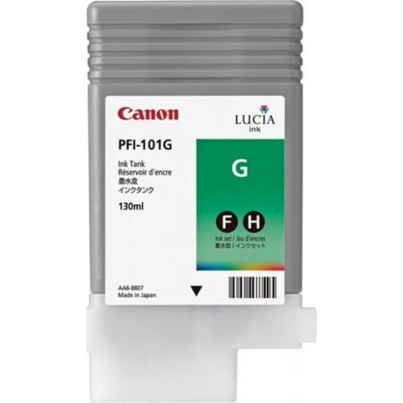 Consommable Canon PFI-101G Encre Pigment Vert (130ml)