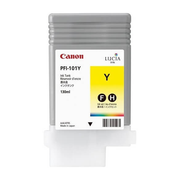 Canon PFI-101Y Ink tank Pigment Yellow