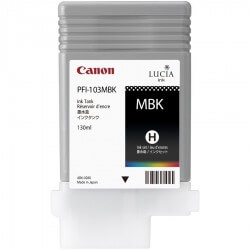 Canon PFI-103MBK Pigment Encre tank Black for IPF6100 130ml