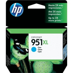 HP Cartouche d'encre Officejet cyan 951XL