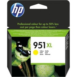 HP Cartouche d'encre Officejet jaune 951XL