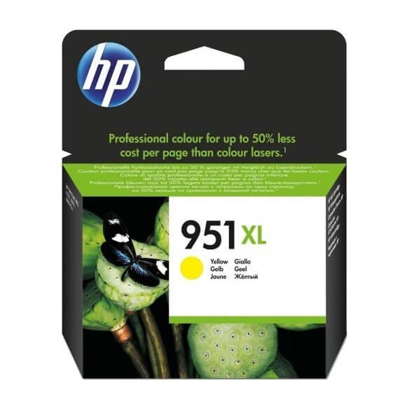 Consommable HP Cartouche d'encre Officejet jaune 951XL