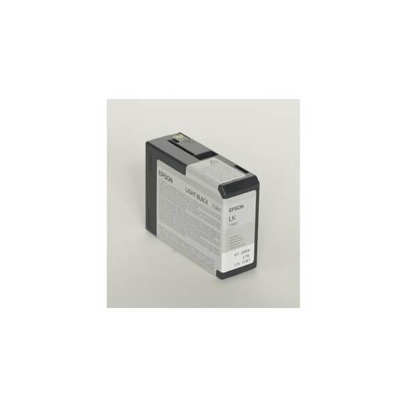 Consommable Epson Encre Pigment Gris SP 3800/3880 (80ml)