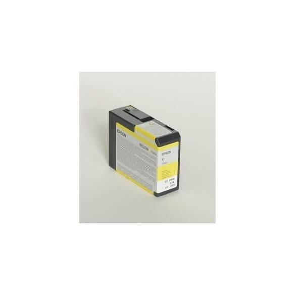 Consommable Epson Encre Pigment Jaune SP 3800/3880 (80ml)