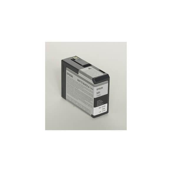 Consommable Epson Encre Pigment Noir Mat SP 3800/3880 (80ml)