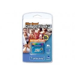 Transcend 80x CompactFlash Card 256MB