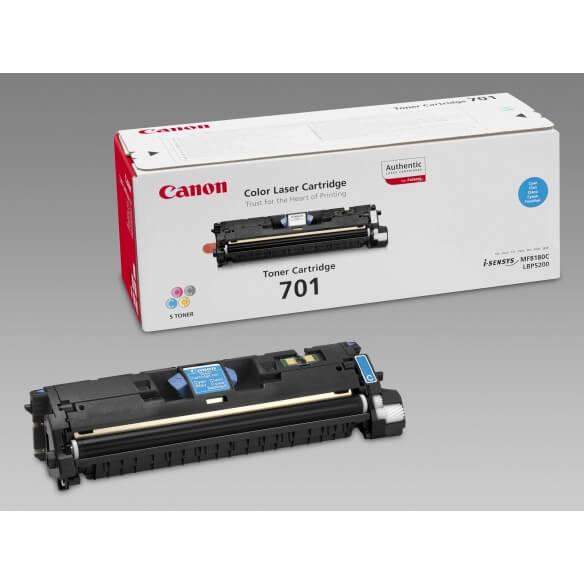 Canon 701 C Cartouche de toner Cyan 4000 pages LBP-5200 (photo)