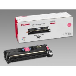 Canon 701L / 9289A003 Cartouche de toner Magenta 2000 pages