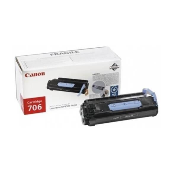 Consommable Canon 706 cartouche de toner noir 5000 Pages