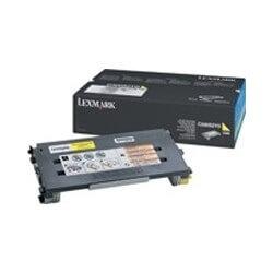Lexmark C500 Jaune cartouche de toner (1.5K)