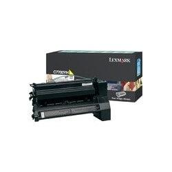 Lexmark Cartouche Haute Capacite Jaune pour C770/C772 - 10000 pages