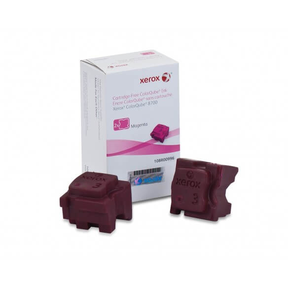 Xerox Encre solide ColorQube 8700 Magenta 4200 pages (2 bâtonnets)