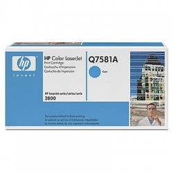 HP Q7581A Cartouche de toner Color LaserJet 503A Cyan 6000 pages