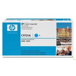 HP C9731A Cartouche de toner Laserjet 645A Cyan 12000 pages