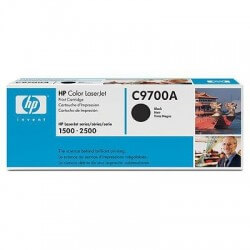 HP C9700A Cartouche de toner LaserJet121A noir 5000 pages