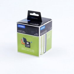 DYMO 99019 Rouleau d'étiquettes adhésives prédécoupées 59x190mm 110 étiquettes