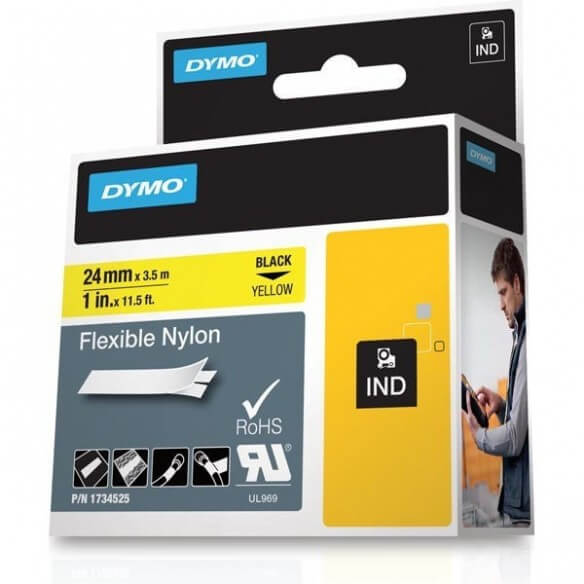 DYMO 1734525 printer label (photo)