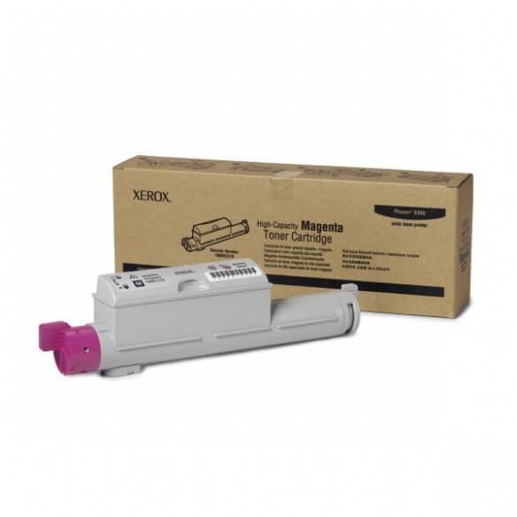 Xerox cartouche toner d'origine magenta Grande capacité pour Phaser 6360