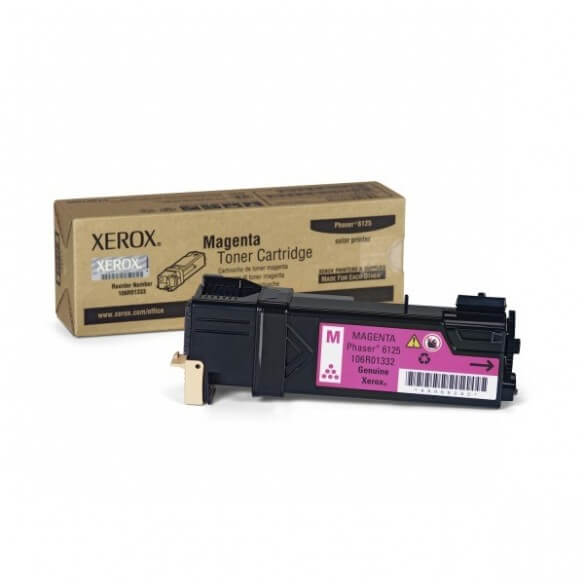 Consommable Xerox Cartouche toner Magenta 1000 pages pour Phaser 6125