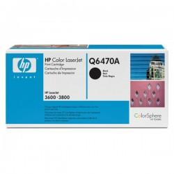 HP Q6470A Cartouche de toner Color LaserJet 501A Noir 6000 pages