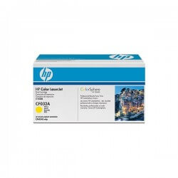 HP CF032A Cartouche de toner Color LaserJet 646A Jaune 12500 pages