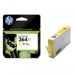HP Cartouche d'encre jaune 364XL