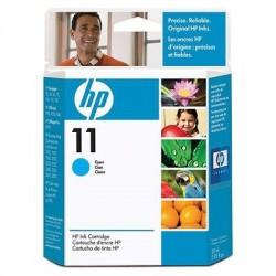 HP Cartouche d'encre cyan HP11