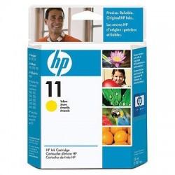 HP Cartouche d'encre jaune HP11