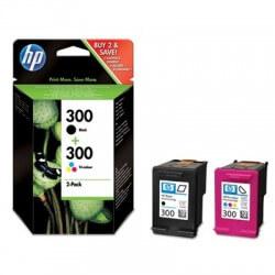 HP 300 Cartouches d'encre noir/3 couleurs